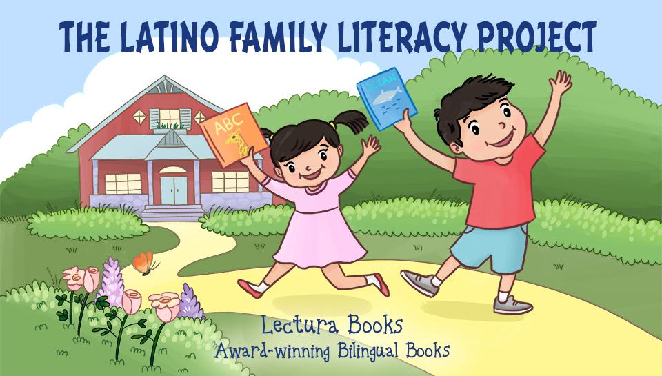 Preschool bilingual books in English and Spanish