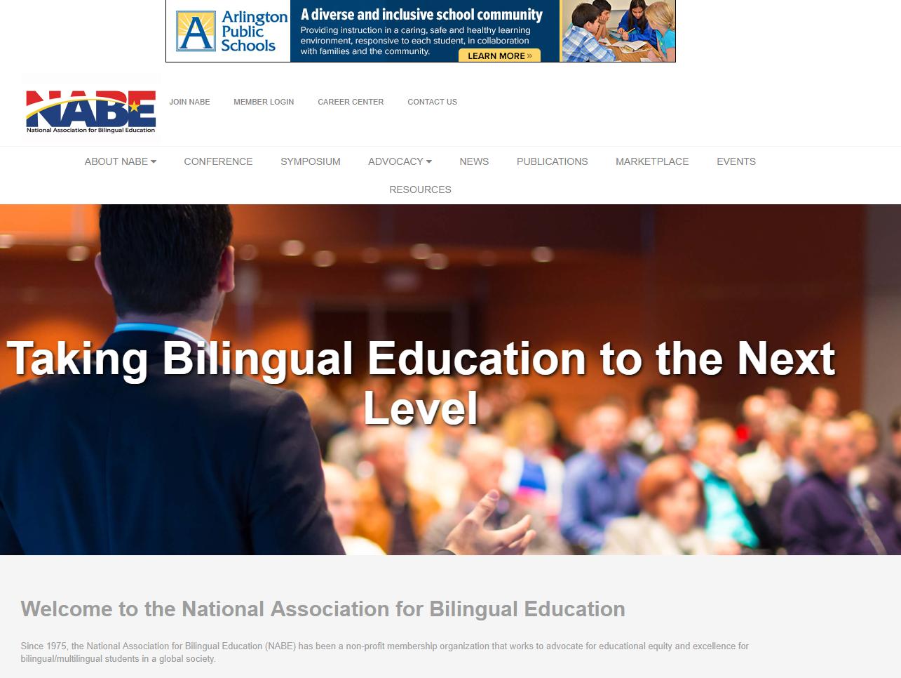 National Association for Bilingual Education